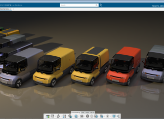 rendering Dassault Systèmes 3DEXPERIENCE