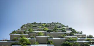budynek balkon zieleń